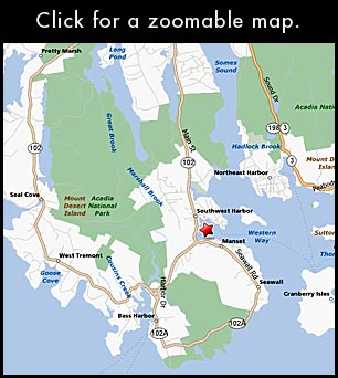 Pier One Vacation Rentals  Southwest Harbor Maine By Acadia