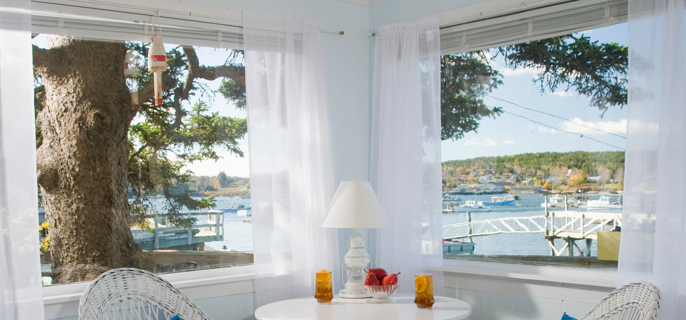 Window view in Deck House