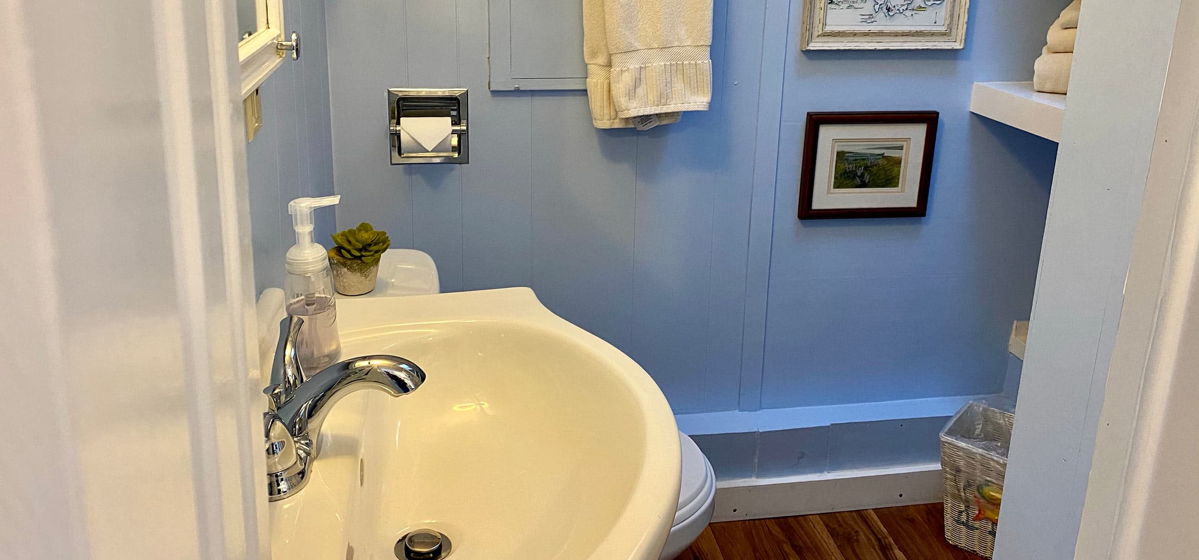 Bathroom in The Deck House