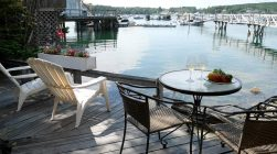 Private Deck with Harbor view at Fok Sul